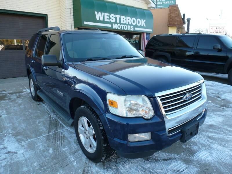 2008 Ford Explorer for sale at Westbrook Motors in Grand Rapids MI