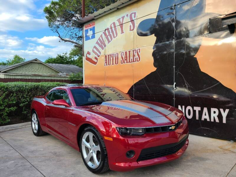 2015 Chevrolet Camaro for sale at Cowboy's Auto Sales in San Antonio TX