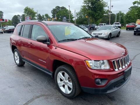 2012 Jeep Compass for sale at JV Motors NC 2 in Raleigh NC
