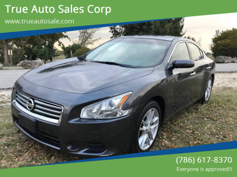 2013 Nissan Maxima for sale at True Auto Sales Corp in Miami FL
