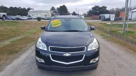 2012 Chevrolet Traverse for sale at Auto Guarantee, LLC in Eunice LA