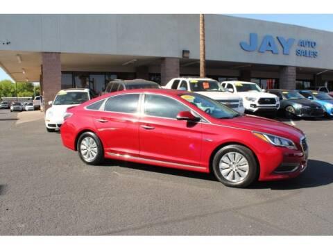 2016 Hyundai Sonata Hybrid for sale at Jay Auto Sales in Tucson AZ