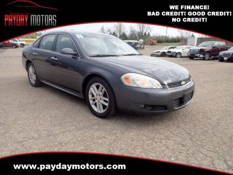 2011 Chevrolet Impala for sale at Payday Motors in Wichita And Topeka KS