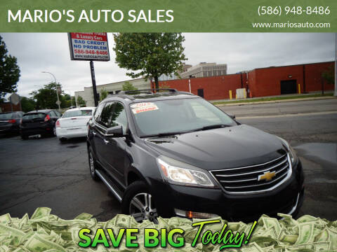 2015 Chevrolet Traverse for sale at MARIO'S AUTO SALES in Mount Clemens MI