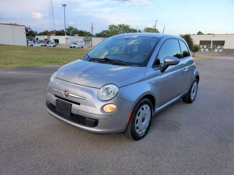 2016 FIAT 500 for sale at Image Auto Sales in Dallas TX