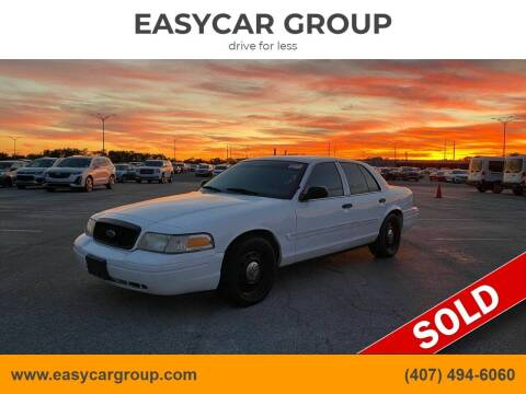 2011 Ford Crown Victoria for sale at EASYCAR GROUP in Orlando FL