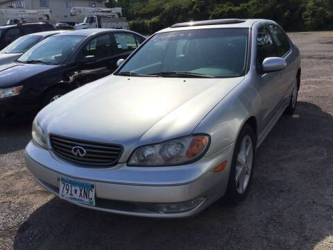 2002 Infiniti I35 for sale at Sparkle Auto Sales in Maplewood MN