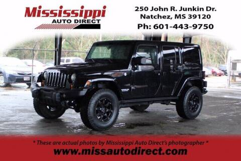 2012 Jeep Wrangler Unlimited for sale at Auto Group South - Mississippi Auto Direct in Natchez MS