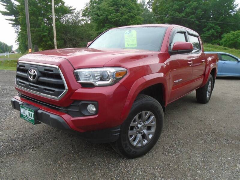 2016 Toyota Tacoma for sale at Wimett Trading Company in Leicester VT