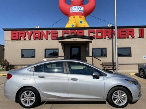 2017 Chevrolet Cruze for sale at Bryans Car Corner in Chickasha OK