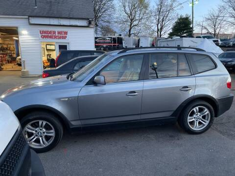 2005 BMW X3 for sale at Car VIP Auto Sales in Danbury CT