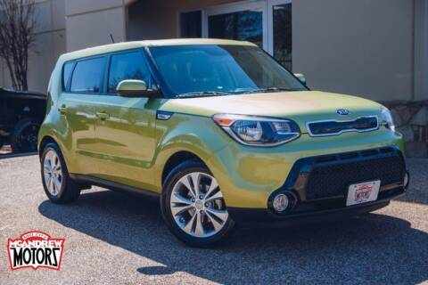2016 Kia Soul for sale at Mcandrew Motors in Arlington TX