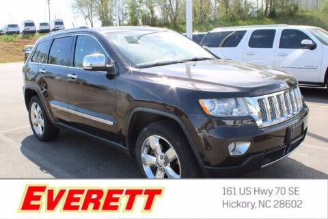 2012 Jeep Grand Cherokee for sale at Everett Chevrolet Buick GMC in Hickory NC