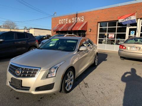 2013 Cadillac ATS for sale at Cote & Sons Automotive Ctr in Lawrence MA