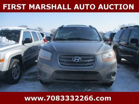 2010 Hyundai Santa Fe for sale at First Marshall Auto Auction in Harvey IL
