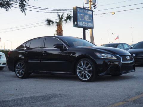 2015 Lexus GS 350 for sale at Winter Park Auto Mall in Orlando FL