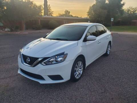 2017 Nissan Sentra for sale at Hotline 4 Auto in Tucson AZ