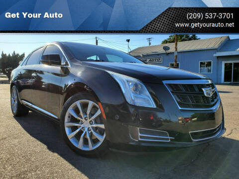 2016 Cadillac XTS for sale at Get Your Auto in Ceres CA