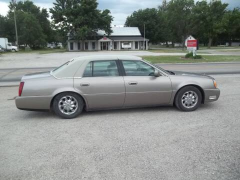 2003 Cadillac DeVille for sale at BRETT SPAULDING SALES in Onawa IA