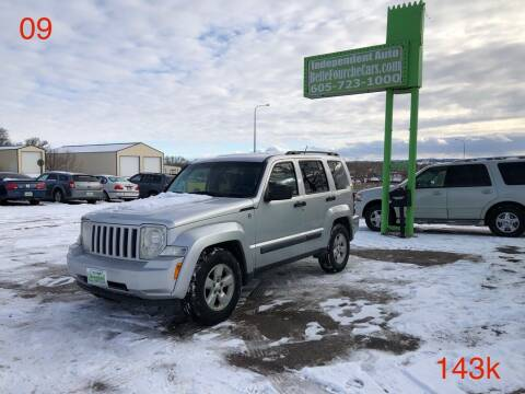 2009 Jeep Liberty for sale at Independent Auto in Belle Fourche SD