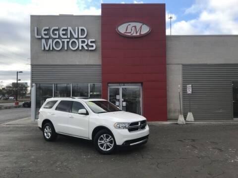 2011 Dodge Durango for sale at Legend Motors of Waterford - Legend Motors of Ferndale in Ferndale MI