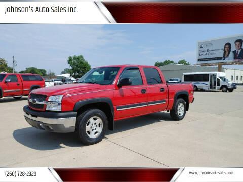 2004 Chevrolet Silverado 1500 for sale at Johnson's Auto Sales Inc. in Decatur IN