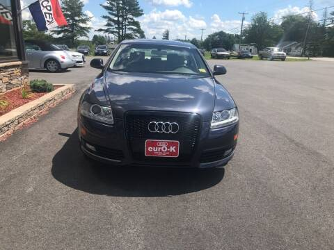 2009 Audi A6 for sale at eurO-K in Benton ME