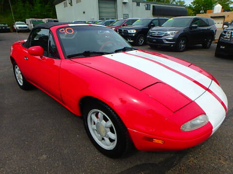 1990 Mazda MX-5 Miata for sale at Jon's Auto in Marquette MI