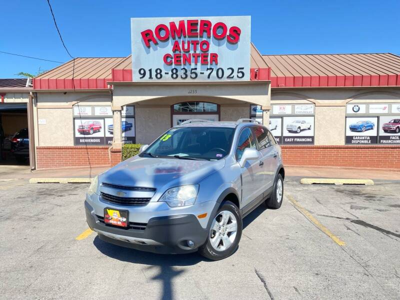 2013 Chevrolet Captiva Sport for sale at Romeros Auto Center in Tulsa OK