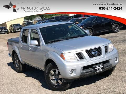 2011 Nissan Frontier for sale at Star Motor Sales in Downers Grove IL