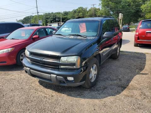 2002 Chevrolet TrailBlazer for sale at ASAP AUTO SALES in Muskegon MI