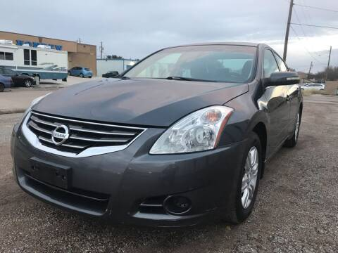 2011 Nissan Altima for sale at BJ International Auto LLC in Dallas TX