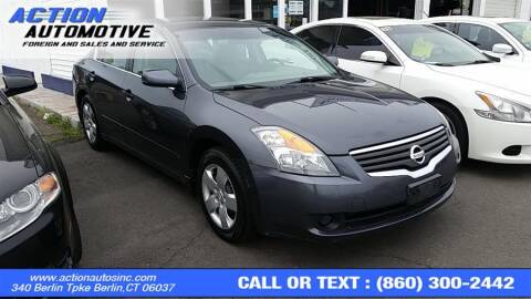 2008 Nissan Altima for sale at Action Automotive Inc in Berlin CT