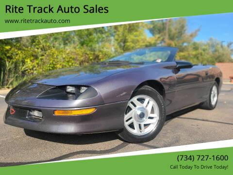 1994 Chevrolet Camaro for sale at Rite Track Auto Sales in Wayne MI