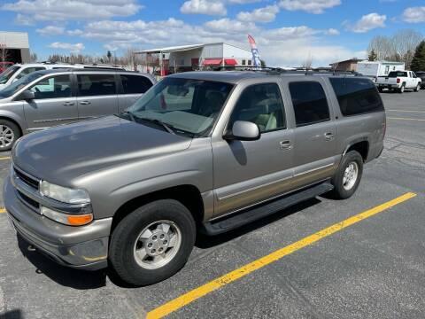 2001 Chevrolet Suburban for sale at ALOTTA AUTO in Rexburg ID