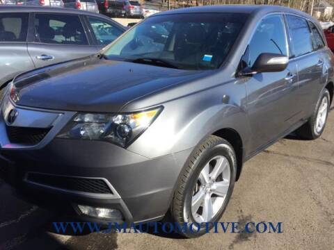 2012 Acura MDX for sale at J & M Automotive in Naugatuck CT
