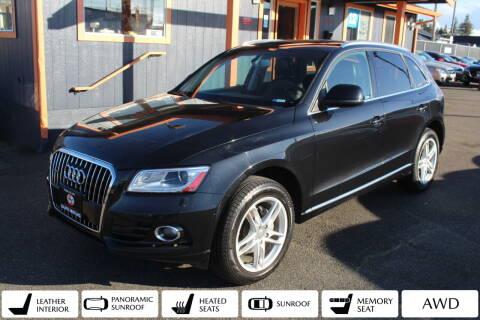 2013 Audi Q5 for sale at Sabeti Motors in Tacoma WA