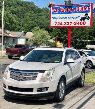 2010 Cadillac SRX for sale at Car Factory Outlet in Lower Burrell PA
