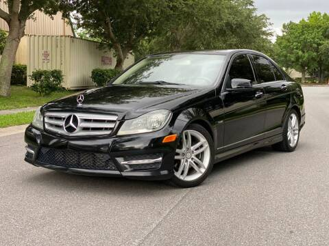 2012 Mercedes-Benz C-Class for sale at Presidents Cars LLC in Orlando FL