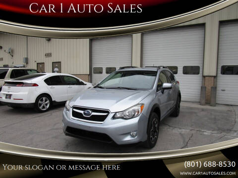 2015 Subaru XV Crosstrek for sale at Car 1 Auto Sales in Murray UT