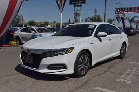 2019 Honda Accord Hybrid for sale at Choice Motors in Merced CA