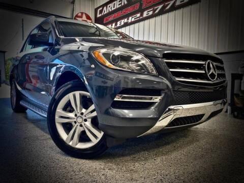 2015 Mercedes-Benz M-Class for sale at Carder Motors Inc in Bridgeport WV