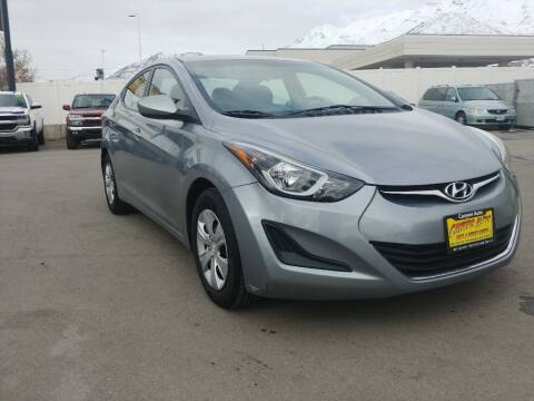 2016 Hyundai Elantra for sale at Canyon Auto Sales in Orem UT
