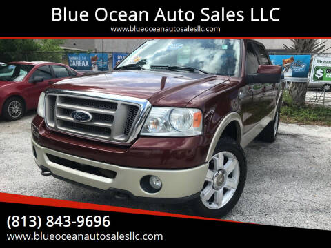 2007 Ford F-150 for sale at Blue Ocean Auto Sales LLC in Tampa FL