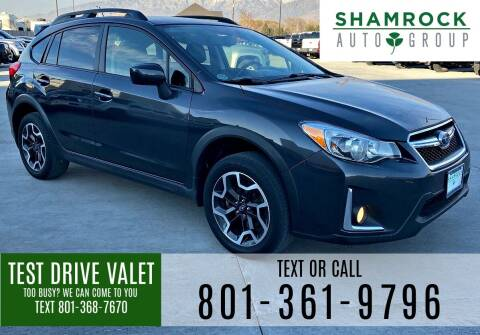 2016 Subaru Crosstrek for sale at Shamrock Group LLC #1 in Pleasant Grove UT