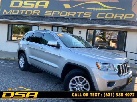 2012 Jeep Grand Cherokee for sale at DSA Motor Sports Corp in Commack NY