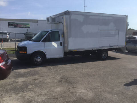 2017 Chevrolet Express Cutaway for sale at Second 2 None Auto Center in Naples FL