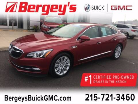 2018 Buick LaCrosse for sale at Bergey's Buick GMC in Souderton PA