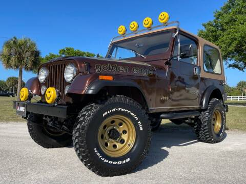 1985 Jeep CJ-7 for sale at PennSpeed in New Smyrna Beach FL
