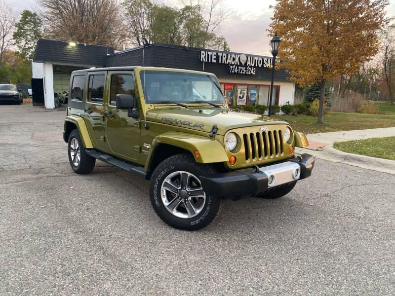 2008 Jeep Wrangler Unlimited for sale at Rite Track Auto Sales in Canton MI